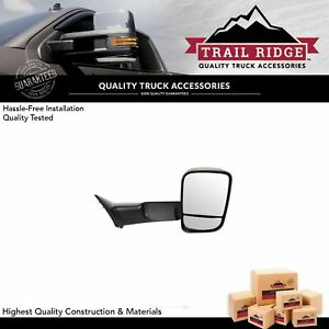 Trail Ridge Towing Mirror Manual Textured Passenger Right Rh For Dodge Ram New