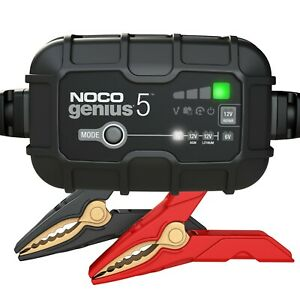 Noco Genius5 5a Smart Battery Charger