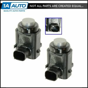 Silver Parking Aid Assist Sensor Rear Pair For Expedition Ls Navigator Town Car