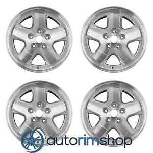 New 16 Replacement Wheels Rims For Jeep Liberty 2002 2007 Set
