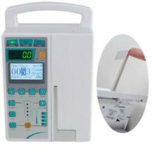Medical Infusion Pump Iv Fluid Equipment With Audible And Visual Alarm