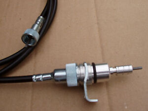 Ford Speedometer Cable 103 100 Inch 5 8 Nut Ford Push in At Transmission End