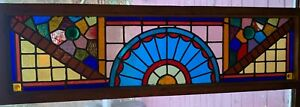 Exceptional Colors In Victorian Stained Glass Window