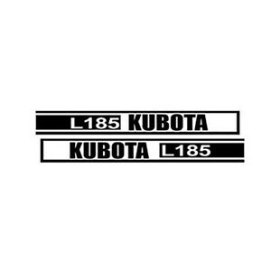 Kl185 New Hood Decal Set Made To Fit Kubota Tractor Model L185