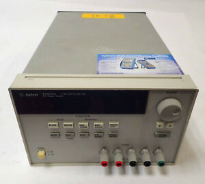Agilent E3633a Programmable Dc Power Supply 0 8v 20a 0 20v 10a 60vdc 115v parts