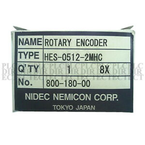 New Nemicon Hes 0512 2mhc Rotary Encoder