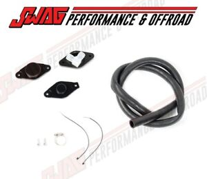 11 17 Gm 6 6 6 6l Lml Duramax Diesel Pcv Reroute Kit Fittings Rubber Hose Black