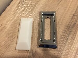 1966 1967 1968 1969 1970 Ford Falcon Dome Lens And Chrome Holder Mint Set