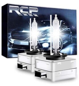 2x Genuine Rcp D3s D3r 6000k Xenon Headlight Hid Bulbs Oem Replacement Lights