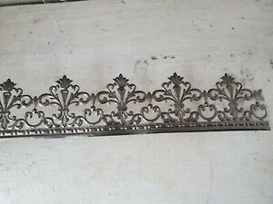 Metal Lace Ribbon Tin Filigree Edging Decorative Trim For Projects 3 By 2 25