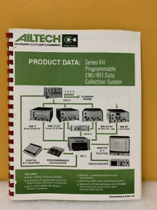 Ailtech Series Vii Programmablee Emi rfi Data Collection System Manual