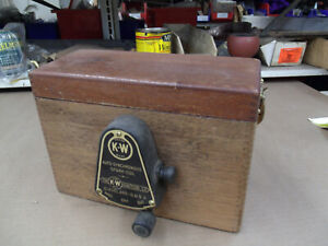 Model T Ford 1913 K W Wood Coil Box Mt 4795