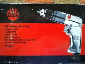 Mac Tools 3 8 Reversible Drill Ad540
