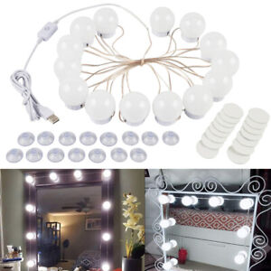 Dimmable Makeup 6 14 Led Mirror Lights Bulb Vanity Hollywood Style Lighting