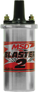 Msd 8200msd Msd Ignition Coil Canister Style W Ballast Hardware Blaster 2 S