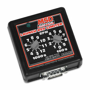 Msd 7551 Launch Rev Limiter Switch Box