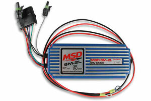 Msd 6560 Msd 6m 2l Marine Certified Ignition With Rev Limit