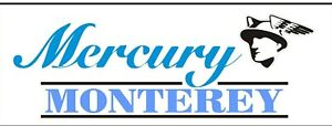 C067 Mercury Monterey Automobile Car Truck Antique Vehicle Banner Garage Signs