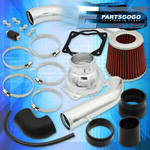 For 1991 1999 Mitsubishi 3000gt Non Turbo Polish Cold Air Intake System Filter
