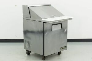 True Tssu 27 12m c 27 1 Door Mega Top Sandwich Prep Table 549887