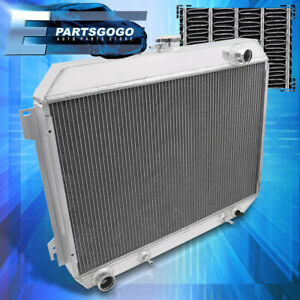 For 68 73 Dodge Coronet Charger Satellite 6 3l 7 2l Tri Core Aluminum Radiator