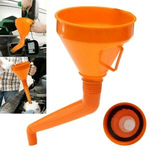 Us Detachable Flexible Car Water Oil Funnel Petrol Diesel With Spout