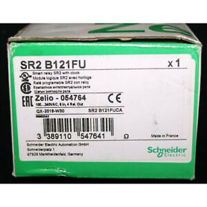 New In Box Snd Zelio Plc Sr2b121fu One Year Warrany