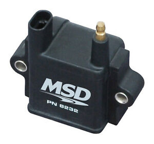 Msd 8232 Msd Ignition Coil single Tower Cpc Ignition Control Black Indiv