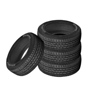 4 X New General Grabber Hts 245 70 17 108s Highway All Season Tire