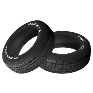 2 X New Bf Goodrich Radial T a P205 70r14 93s Tires