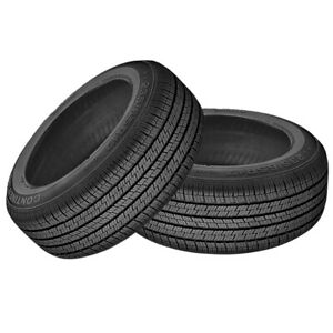 2 X New Continental Crosscontact Lx 215 60 17 96h Touring All season Tire