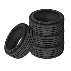 4 X New Continental Contiprocontact 225 45 17 91h All Season Grand Touring Tire