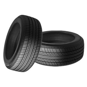 2 X New Uniroyal Tiger Paw Touring A S 225 60r15 Tires