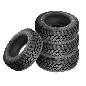 4 X New Mastercraft Courser Mxt Lt295 70r18 Extreme Off Road Tire