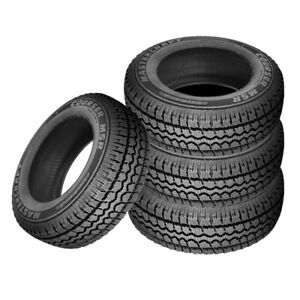 4 X New Mastercraft Courser Msr 265 75r16 sl 116s Bw Tires