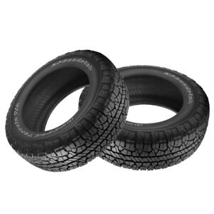 2 X New Bf Goodrich Rugged Trail T A Lt265 70r17 10 121r Tires