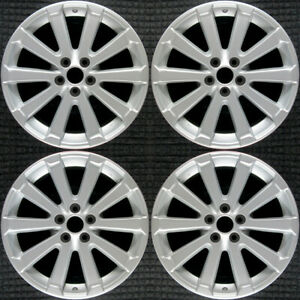 Toyota Venza All Silver 19 Oem Wheel Set 2009 To 2013