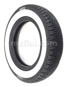 Fiat 500 600 Michelin X 125 12 40 Mm Whitewall Tire