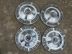 1968 Chevy Chevelle El Camino Hubcaps Wheel Covers Set