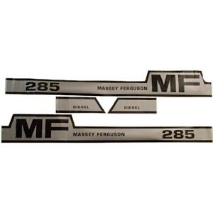 285 Hood Decal Set For Massey Ferguson