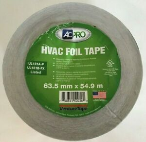 Hvac Foil Tape 63 5mm X 54 9m Ul181a p
