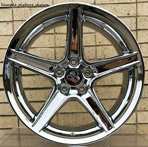 1 New 18 Replacement Rear Wheel For 1994 2004 Ford Mustang Saleen Rim 8170
