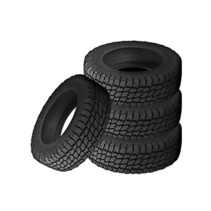4 X New Nitto Terra Grappler 265 75 16 119q All terrain Tire