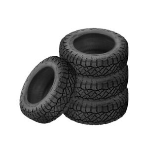 4 X New Nitto Ridge Grappler 265 70 17 121 118q All Terrain Tire