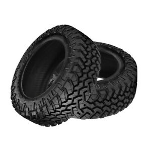 2 X New Nitto Trail Grappler M t 37 12 5 17 124q Off road Traction Tire