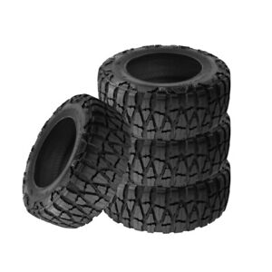 4 X New Nitto Mud Grappler X Terra 35 1250 20 121q Mud Terrain Tire
