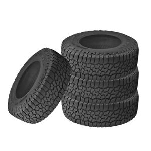 4 X New Falken Wild Peak A T3w P285 70r17 117t Rbl All Terrain Any Weather Tires