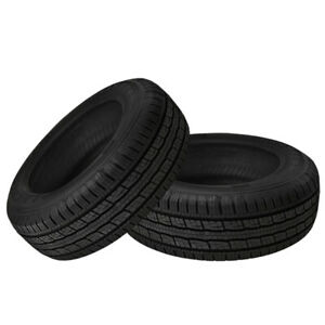 2 X New General Grabber Hts60 245 65 17 107t Highway All Season Tire
