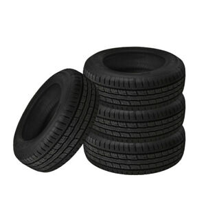 4 X New General Grabber Hts60 265 70 17 121 118s Highway All Season Tire