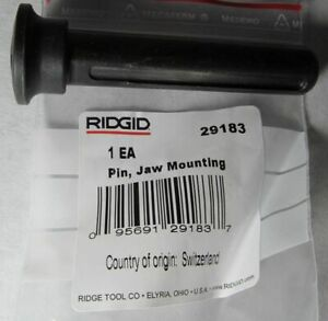New Genuine Ridgid 29183 Jaw Mounting Pin For Hydraulic Pressing Crimping Tool